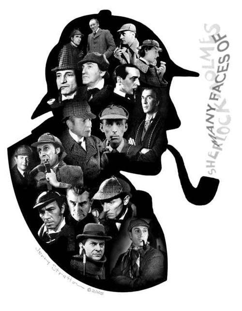 Historical Faces of Sherlock Holmes