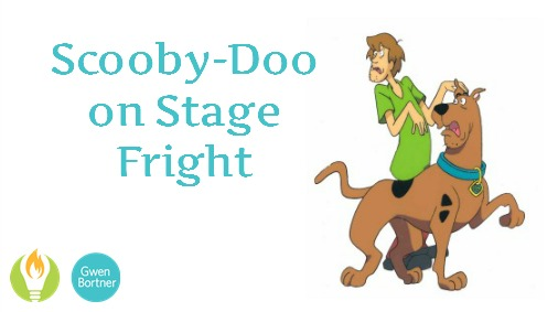 "Give yourself a ""Scooby Snack"" and get on that stage!"