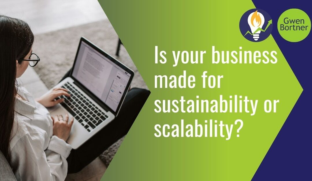 Is your business made for sustainability or scalability?