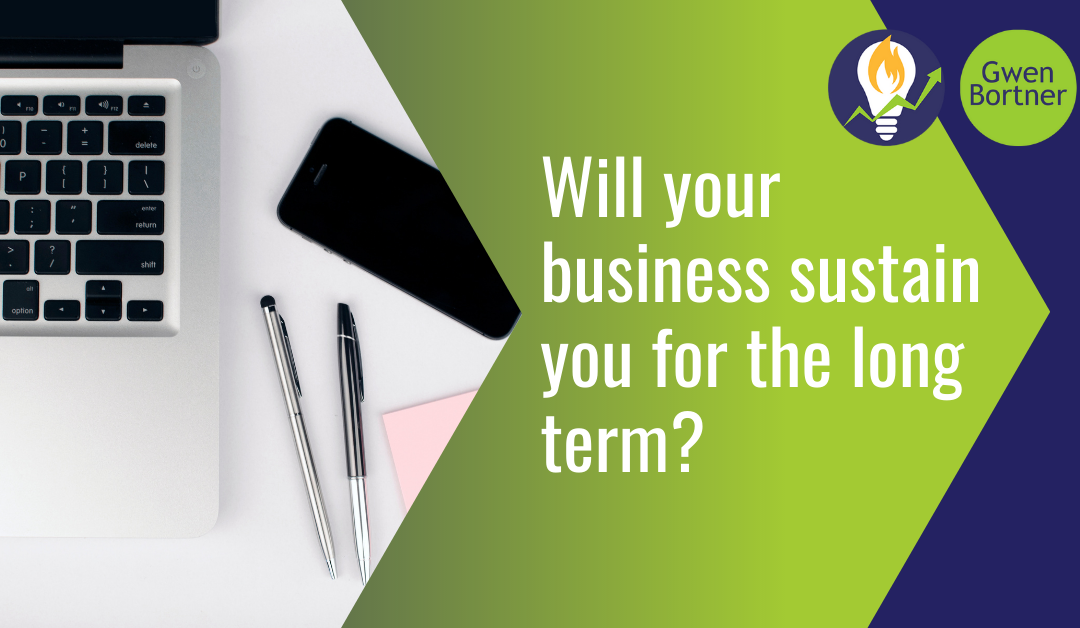Will your business sustain you for the long term?